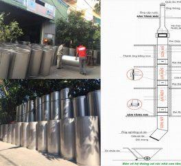 Ống thu rác chung cư