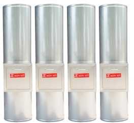 ống thu rác inox SM08