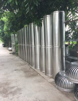 Ống thu rác inox SM10