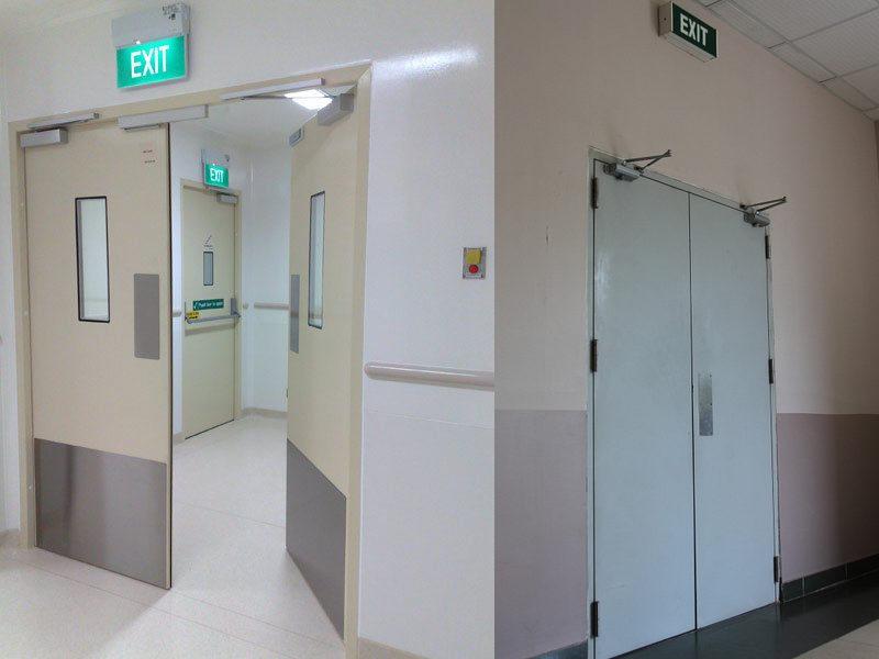 cửa chống cháy thoát hiểm