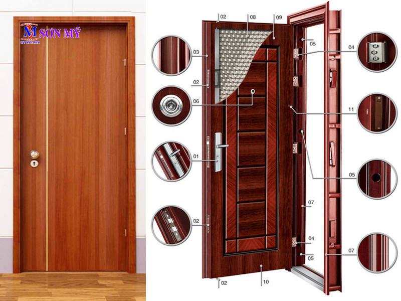 Cửa chống cháy vân gỗ là gì? Vì sao nên chọn cửa chống cháy vân gỗ?