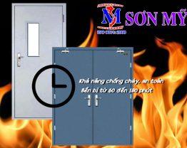 Cửa chống cháy cao cấp lựa chọn hoàn hảo cho ngôi nhà của bạn