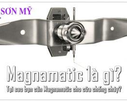 Magnamatic là gì? Tại sao bạn cần Magnamatic cho cửa chống cháy?