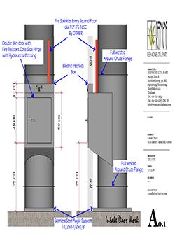 Ống đổ rác chung cư - Lựa chọn thu gom rác hoàn hảo cho nhà cao tầng