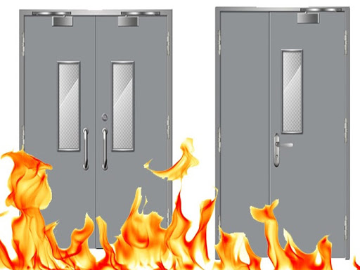 Cấu tạo cửa thép chống cháy Hà Nội